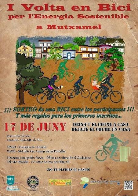 Mutxamel. I Volta en Bici 2012 per l'energia sostenible a Mutxamel