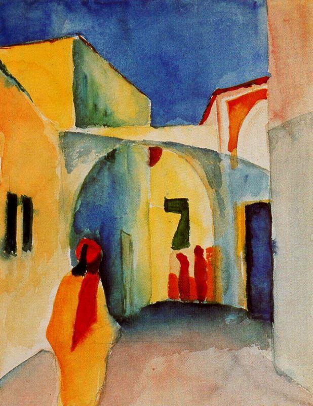 Armario Keter Jardin ~ Las vanguardias históricas august macke Paperblog