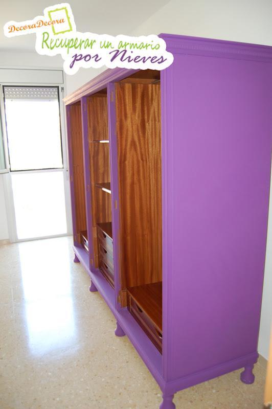 como pintar un armario