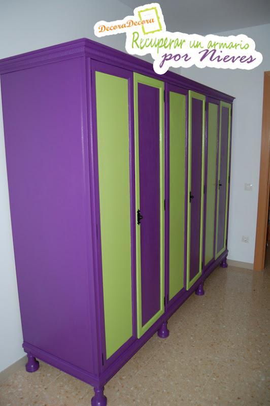 como restaurar un armario viejo