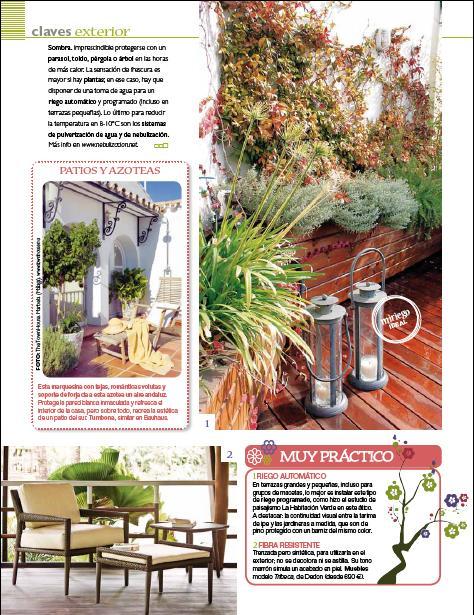 Ideas para decorar jardines en ticos y terrazas paperblog - Ideas para aticos ...