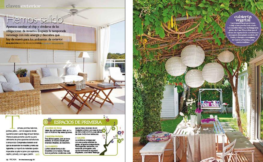 ideas para decorar jardines en ticos y terrazas