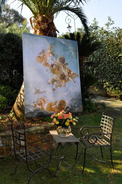 Lienzos outdoor para decorar las terrazas paperblog Cuadros para el jardin