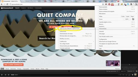 Tip: Crea accesos directos para tus sitios favoritos y web apps