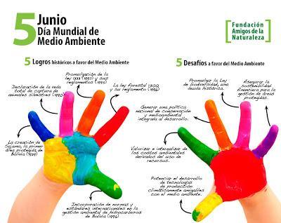 5 DE JUNIO: DÍA MUNDIAL DEL MEDIO AMBIENTE - BOLIVIA