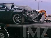 Lindsay Lohan tuvo accidente coche