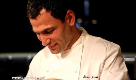 Menú para invitados de Darío Barrio en Kitchen Club