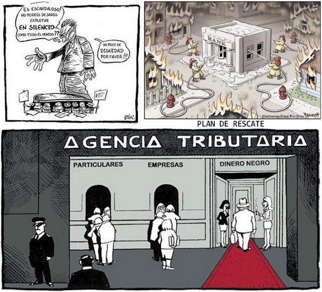 El Préstamo-Rescate a España y Rajoy se va a ver un partido fútbol.
