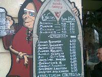 Cervecería the irish abbey en la calle ibiza madrid