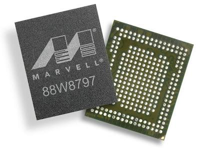 Marvell muestra un chip con NFC, Bluetooth 4.0 y WiFi ac
