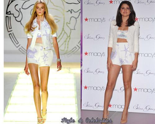 Selena Gomez y su look inspirado en el mar