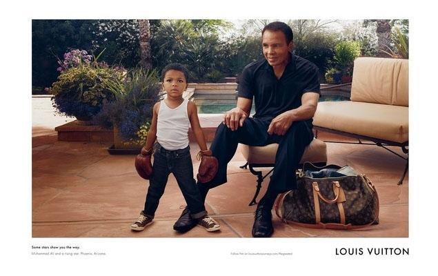 Muhammad Ali for Louis Vuitton