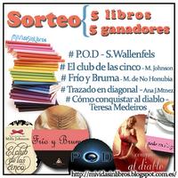 Sorteo +400 seguidores del blog Mi vida sin libros