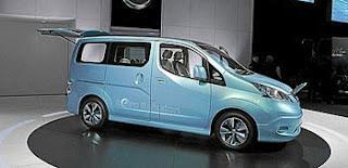 Nissan se atreve con un furgón totalmente eléctrico