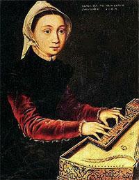 El arte flamenco en femenino, Caterina van Hemessen (1528-1587)