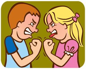peleas de hermanos