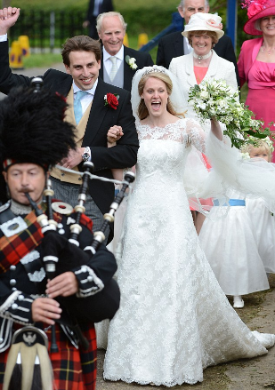La Duquesa de Cambridge, nueva lección de estilo en la boda de Emily McCorquodale, prima del Príncipe Guillermo