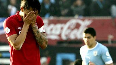 Uruguay 4 - Perú 2  Eliminatorias Brasil 2014