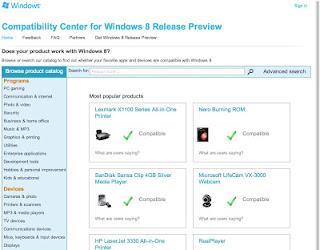 ¿Qué programas funcionan en Windows 8?