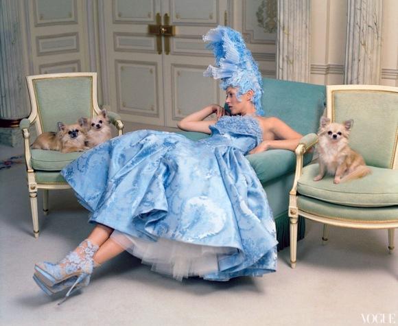 Kate Moss en Vogue...