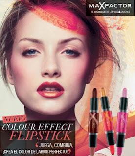 Multicolor con los Flipstick Colour Effect de Max Factor