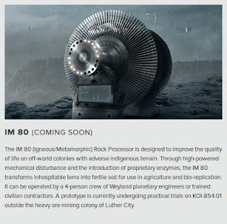 Prometheus: La tecnología (N - 8)