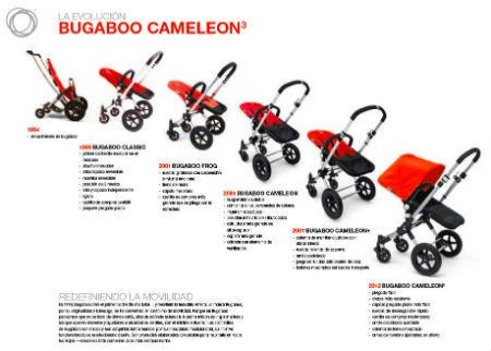 Nuevo cochecito para bebés Bugaboo Cameleon