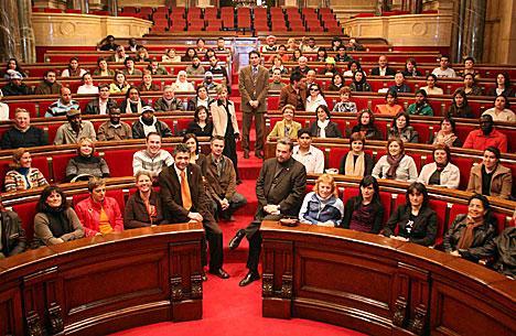 Piden al Parlament de Catalunya una ley contra la homofobia