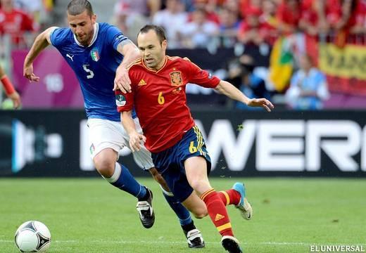 Diseñando la Euro2012: España 1 - Italia 1