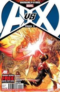 Portada de Jim Cheung para Avengers Vs. X-Men Nº 11