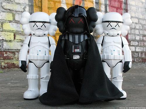 Kaws Darth Vader x Stormtrooper