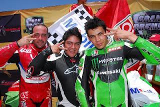 Rotundo éxito del GP Kawasaki en la Copa Pirelli