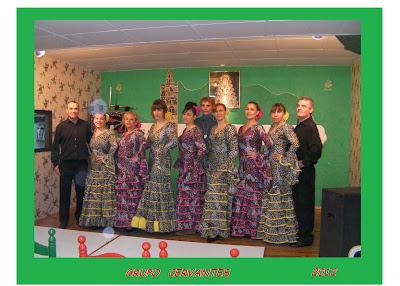 Festival del Grupo Cervantes, mi grupo