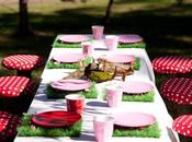 Fiesta reino encantado hadas:Decoración mesas
