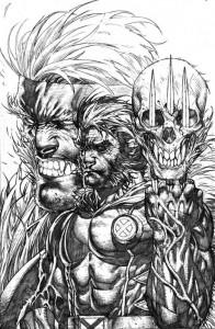 Portada alternativa de Stephen Platt para Wolverine Nº 310