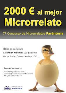 VII CONCURSO DE MICRORRELATOS PARÉNTESIS
