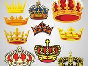 Vectores gratis coronas
