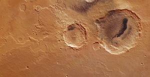 Un cráter marciano demuestra la evolución del clima en el planeta