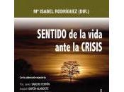NUEVO LIBRO: SENTIDO vida ante CRISIS