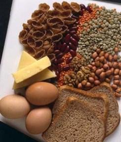 Comida sana es una de las claves de la salud.
