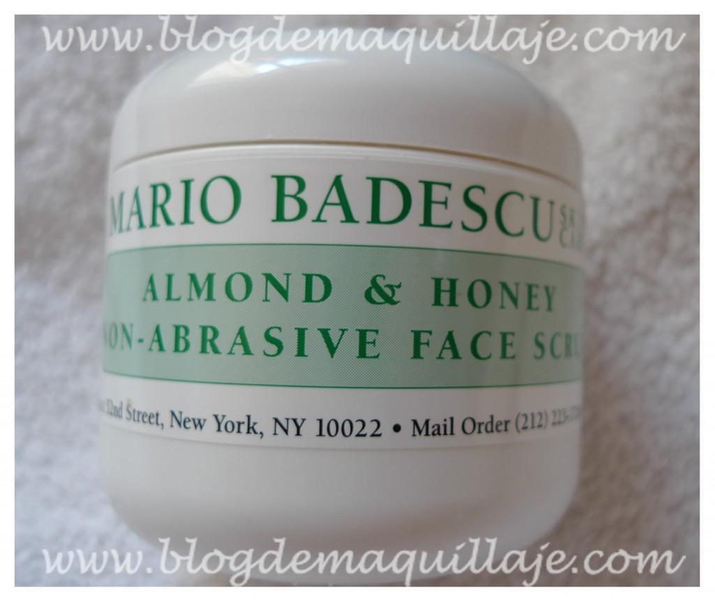 Exfoliante de almendra y miel – Mario Badescu