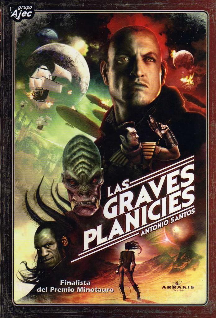 Las Graves Planicies, de Antonio Santos, ya disponible en ebook