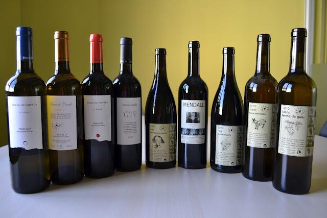 VINOSCOPIO:  CATA VINOS PINELL DEL BRAI ( DO. Terra Alta – PVN, vino natural)