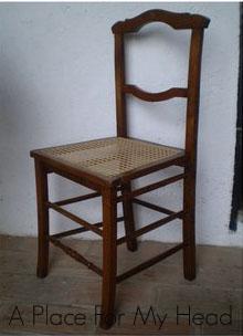Restaurando una silla