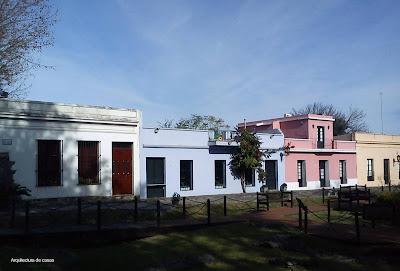 Casas de Colonia, Uruguay.
