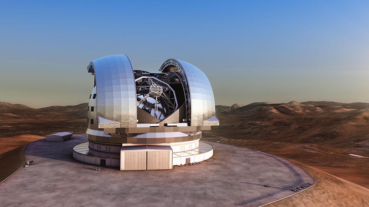 ESO construirá el telescopio óptico/infrarrojo más grande del mundo