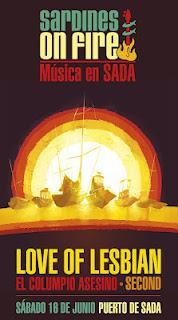 Sardines On Fire Festival: 16 de Junio en Sada (A Coruña)