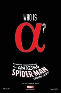Teaser de Amazing Spider-Man Nº 692: ¿Quién es Alfa?