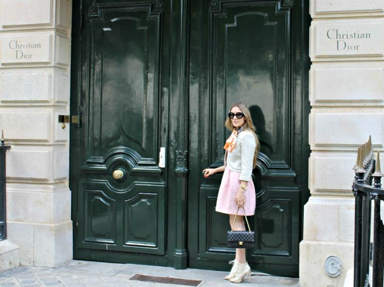 Avenida Montaigne 4º día en París
