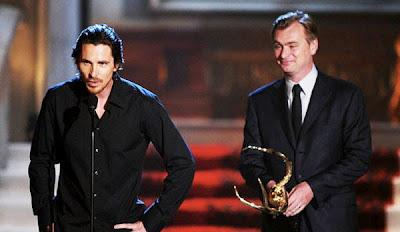 THE DARK KNIGHT RISES: Christian Bale y Christopher Nolan en los Guys Choice Awards
